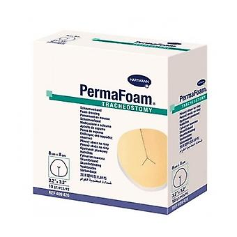 PermaFoam Tracheostoma 8X8Cm 409426 10