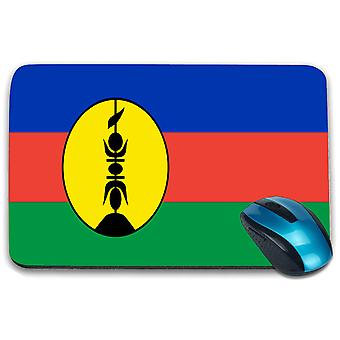 i-Tronixs - New Caledonia Flag Printed Design Non-Slip Rectangular Mouse Mat for Office / Home / Gaming - 0224