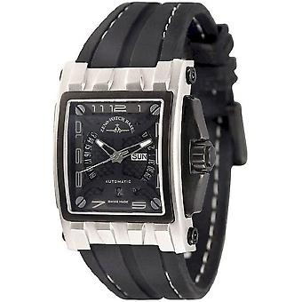 Zeno-watch mens watch mistery rectangular automatic 4239-i1