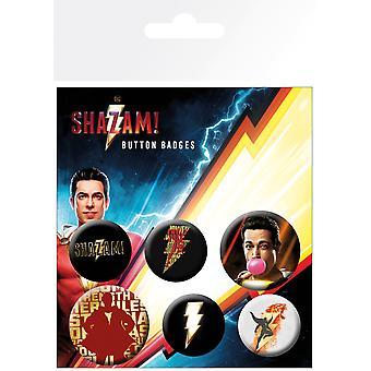 Shazam! Pacchetto badge mix
