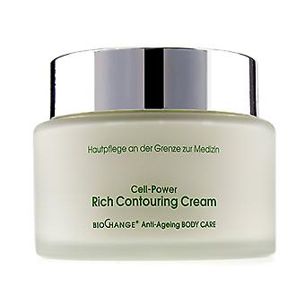Mbr Medical Beauty Research Biochange Anti-ageing Body Care Cell-power Rich Contouring Cream - 400ml/13.5oz