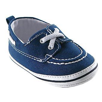 Luvable Friends Boy's Slip-On Shoe For Baby Loafer Boat Shoe