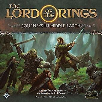 The Lord of The Rings Journeys in Middle-Earth Board Game