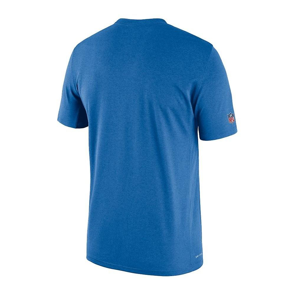 Nike Nfl Detroit Lions Sideline Seismic Legend Performance T-shirt