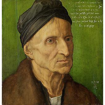 Michael Wolgemut,Albrecht Durer,29x27cm