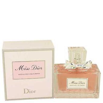 Miss Dior Absolutely Blooming By Christian Dior Eau De Parfum Spray 3.4 Oz (women) V728-534296