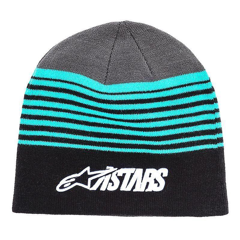 Alpinestars Knitted Cuff Beanie ~ Purps black