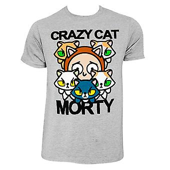 Rick And Morty Crazy Cat Tee Shirt