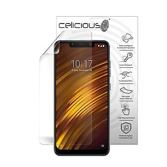 Celicious Vivid Plus Mild Anti-Glare Screen Protector Film Compatible with Xiaomi Pocophone F1 [Pack of 2]