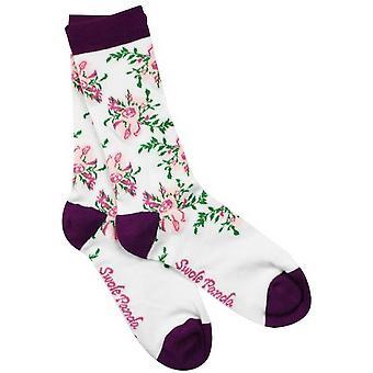 Swole Panda kiipeily ruusu bambu sukat-valkoinen/violetti/vihreä