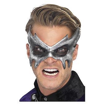 Mens Phantom Masquerade Mask Fancy Dress Accessory