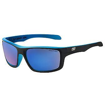 Dirty Dog Axle Satin Sunglasses - Black/Blue