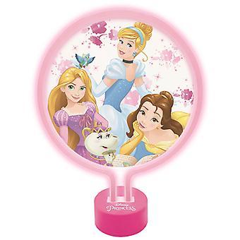 Disney Princess neon licht