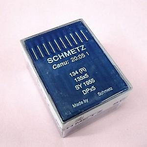 100 Schmetz Industrial Sewing Needles, Universal (Regular) 134 (R) / 135x5 / SY 1955 (Various Sizes)