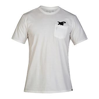 Hurley Killer Bro Pocket Short Sleeve T-Shirt in White