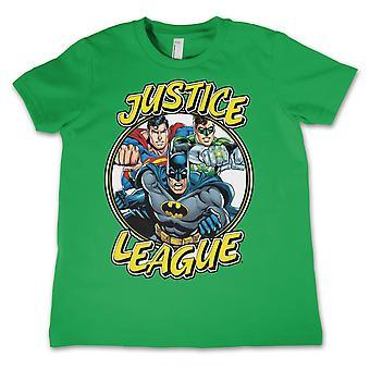 Justits League kid ' s shirt DC Comics