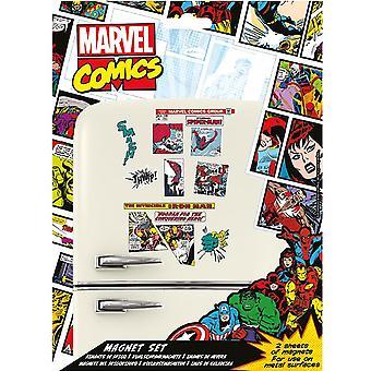 Marvel Comics Fridge Magnet Set (Pacote de 23)
