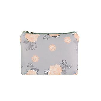 Jewelcity kvinner/Ladies Lilac spredt stor flat makeup bag