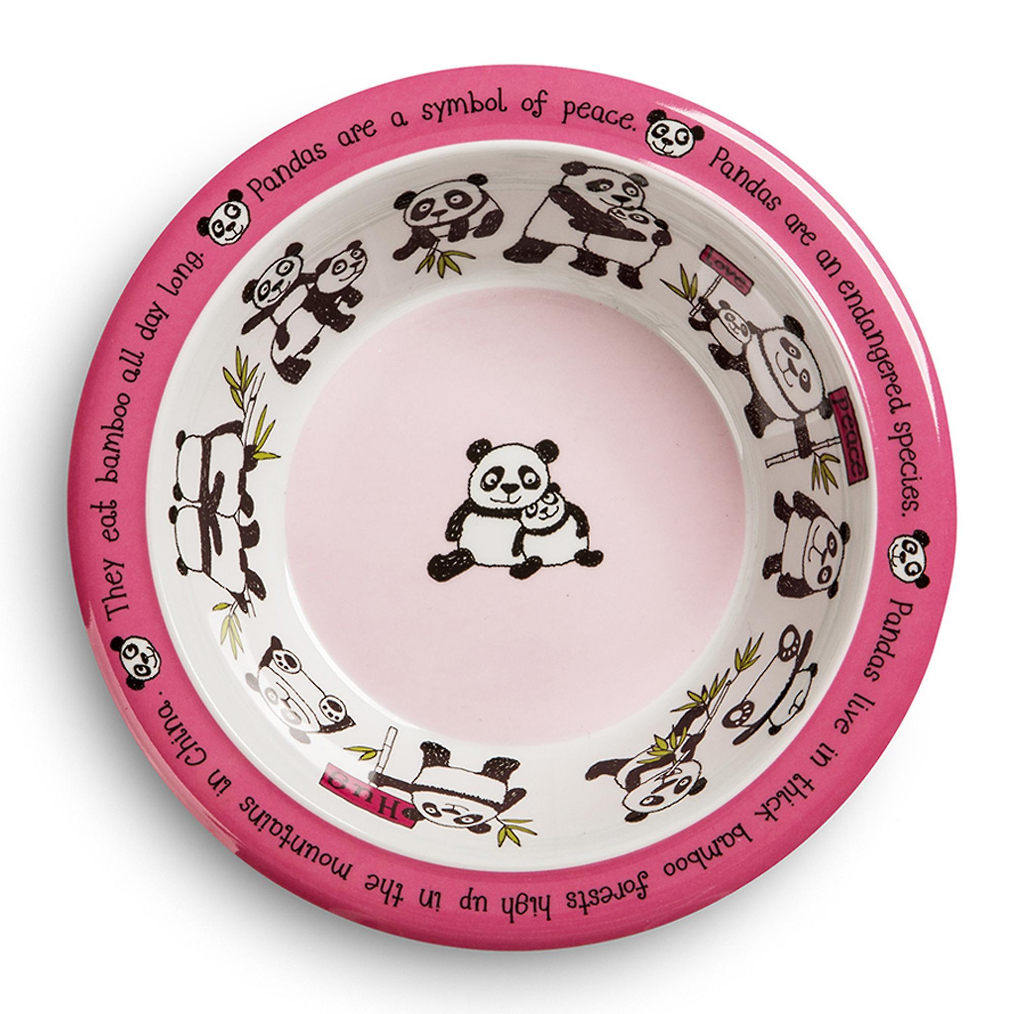 Tyrrell Katz Pandas Design Melamine Bowl