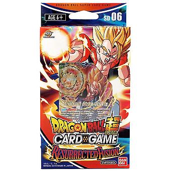 Dragon Ball Super Card Game Starter Deck-Resurrected Fusion (Pack of 6)