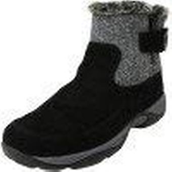 Easy Spirit Womens Excel 8 Suede Fabric Closed Toe Ankle Cold Weather Boots
