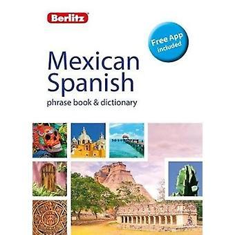 Berlitz Phrase Book  Dictionary Mexican Spanish Bilingual