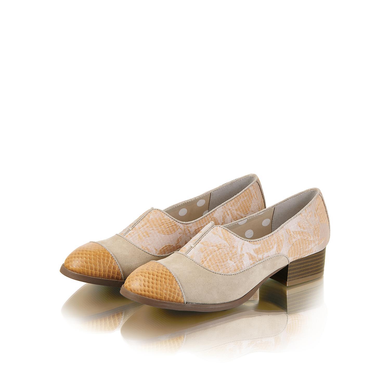 Ruby Shoo Brooke Sand Low Heel Loafers & Matching Cancun Bag Como Purse