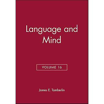 Kielen ja mielen - filosofisia näkökulmia - v. 16 James E. hauta