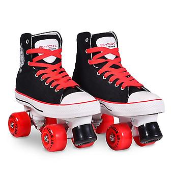 Byox Roller Skates Reverse Size M 36-37, PU Wheels, ABEC-5, Rubber Brake, up to 60 kg