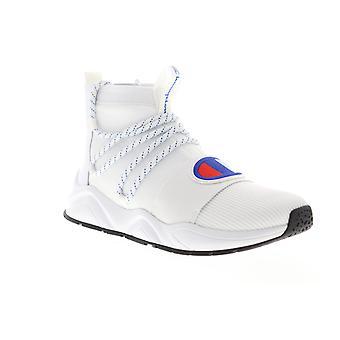Champion Rally hype Mid Mens vit casual hög Top sneakers skor