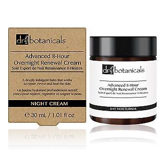 Advanced 8-hour overnight renewal-cream