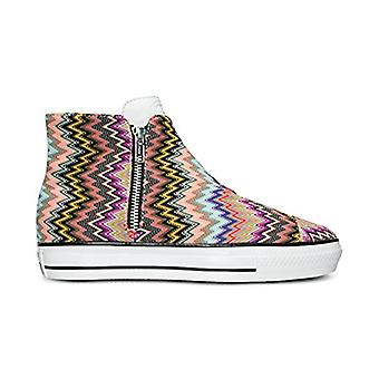 Converse Womens Converse Missoni Hight Top Lace Up Fashion Sneakers
