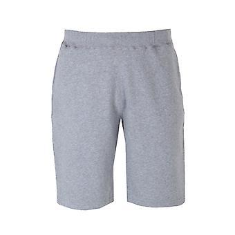 Sunspel grau-Melange-Sweat-Shorts