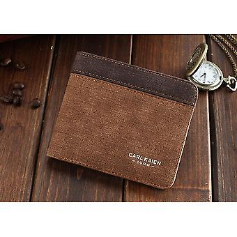 GENUINE PU Leather Wallet Beige Brown White Credit Card Money Purse ID Slot Cash