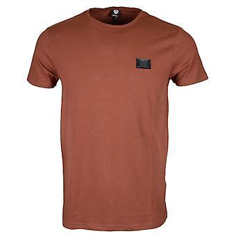 Born Rich Reyes Stretch Cotton Sable T-shirt