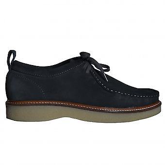 Nicholas Deakins Men's Grey Bowling Two Tie Apron Shoe