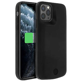 2 in 1 Rigid Case with Built-in 5000mAh Battery for iPhone 11 Pro, Black