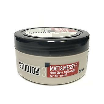 L ' Oreal Studio Line Matt & sotkuinen matta savi, vahva pito, 75 ml
