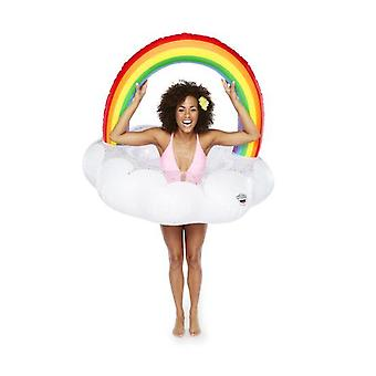 Bigmouth giant rainbow pool float