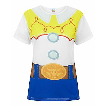 Disney Toy Story Jessie Costume Women's Ladies T-Shirt Top