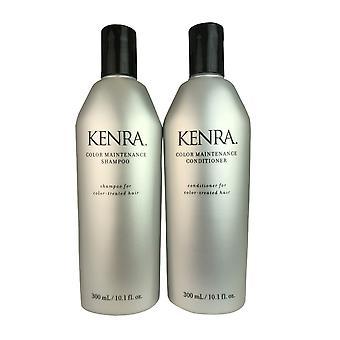 Kenra kleur onderhoud shampoo & conditioner duo voor gekleurd behandeld haar 10,1 oz
