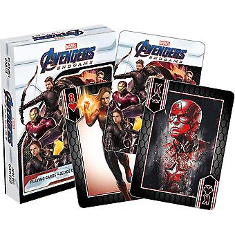 Marvel avengers - end game playing cards