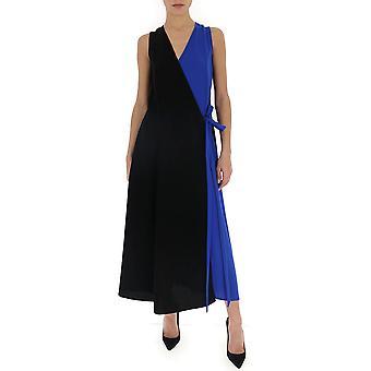 Mulberry Mywq502227yq440500a001 Women's Blue/black Cotton Dress