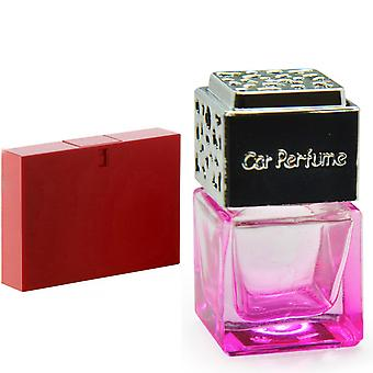 Gucci Rush For Her Inspired Fragrance 8ml Pink Bottle Chrome Lid Car Air Freshener Vent Clip