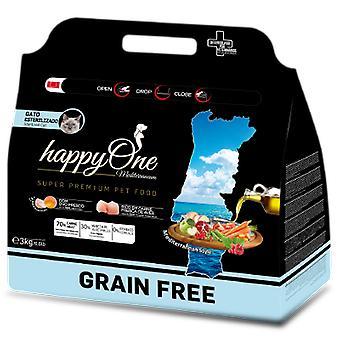 Happy One Mediterraneum Cat Sterilized (Cats , Cat Food , Dry Food)