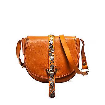 Campomaggi Small Studded Leather Shoulder Bag