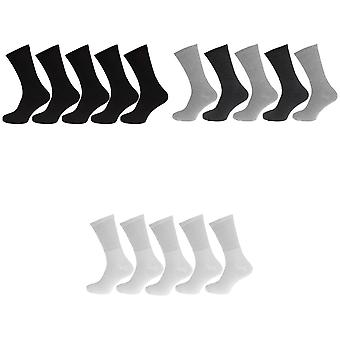 Sportsokken mens katoen rijke Big Foot (5 paar)