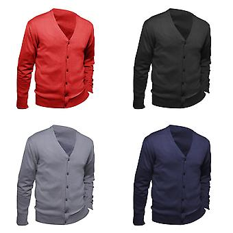 SOLS Mens Golden V Neck Cardigan