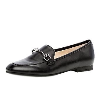 Gabor Serin Smart Loafer Shoes In Black