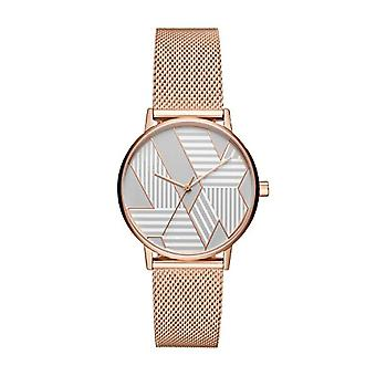 Armani Exchange Ladies Quartz analogue watch with stainless steel band AX5550